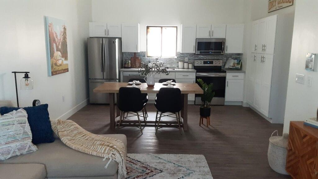 Trellis@Colter - Verde Model - 2nd Floor Living Room into Kitchen