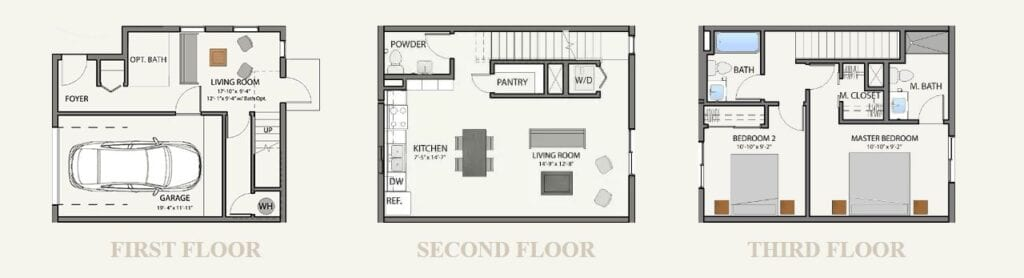 Trellis@Colter Verde Model Floor Plan